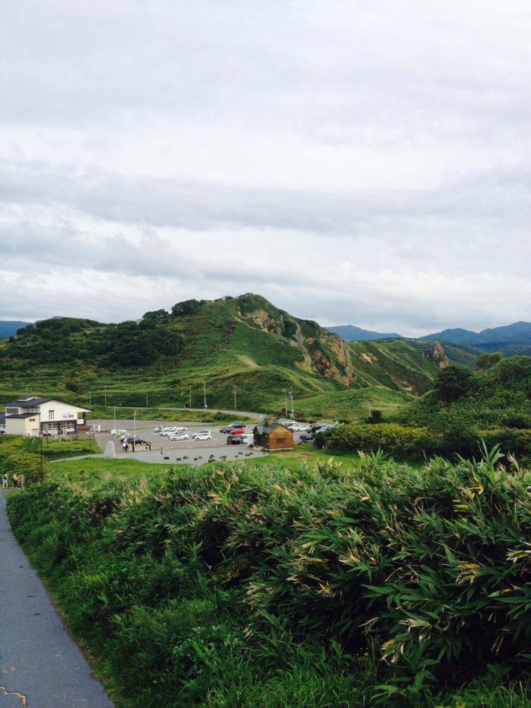 神威岬駐車場
