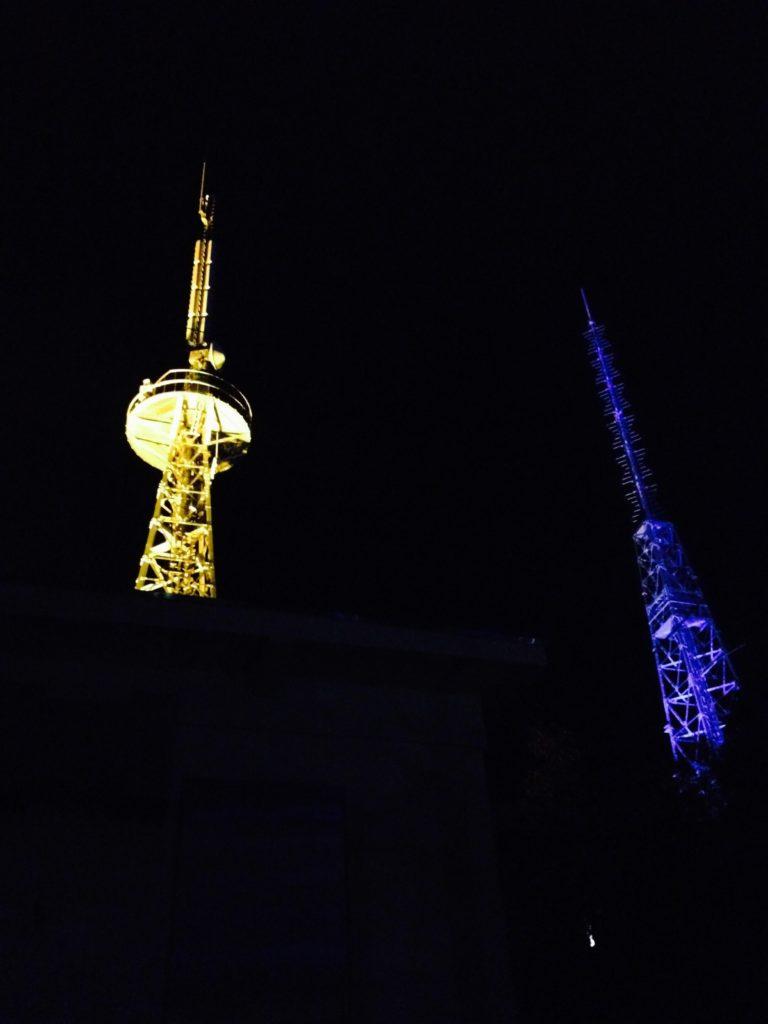 室蘭のテレビ塔