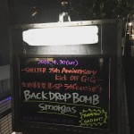 BACK DROP BOMB & smorgas – 「SHELTER 25th Anniversary Kick Off GIG ー 北沢爆音祭 其ノSP ラウドにいこうぜ!」に行ってきた